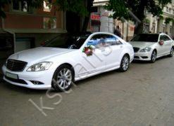 Машины на свадьбу - Мерседес 221 - фото