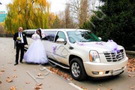 Лимузин на свадьбу Кадиллак на 15 мест