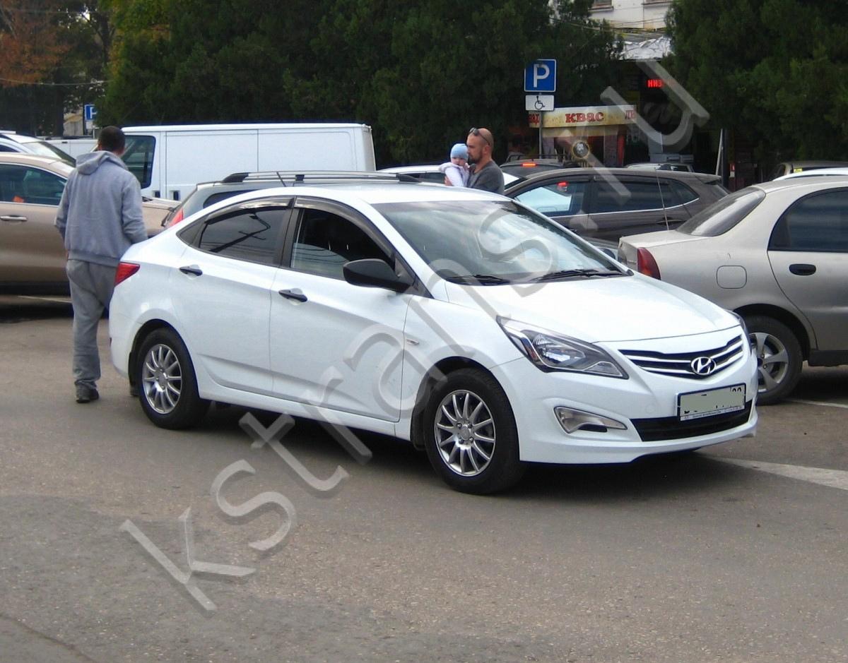 Аренда авто в Симферополе Хундай Солярис - картинка