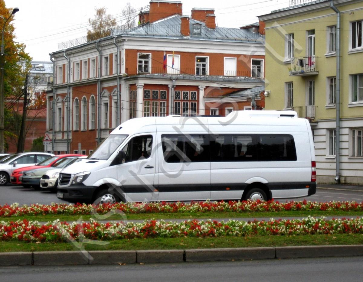 Аренда микроавтобуса на 15-18 мест - Мерседес Спринтер