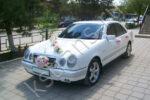 Авто свадьба - белый Мерседес w210