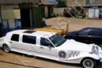 Белый лимузин ретро Экскалибур