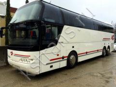 Пассажирские перевозки автобус 50 мест