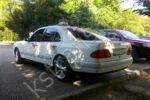 Свадебный автомобиль - белый Мерседес