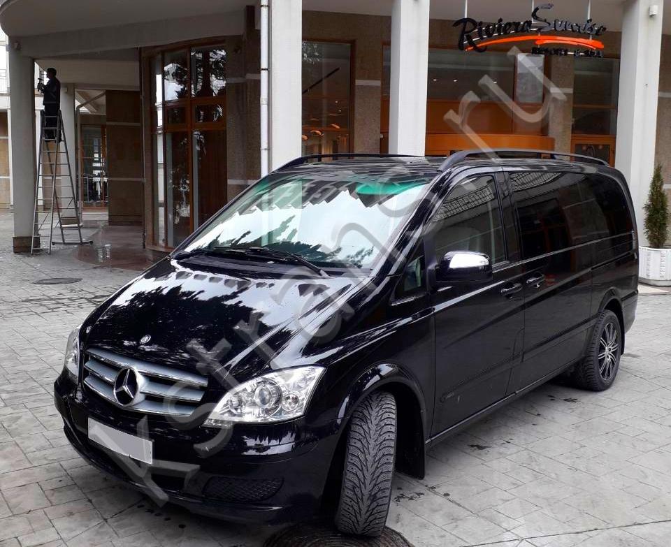 Заказ микроавтобуса с водителем - Мерседес Виано