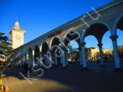 жд вокзалы Крыма - вокзал Симферополь - фото