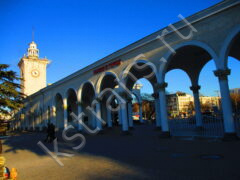 жд вокзал Симферополь Ялта - фото