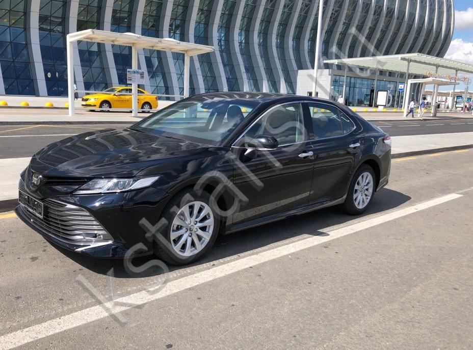 Прокат авто в Крыму Тойота Камри - фото