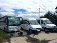 Перевозка детей автобусами - фото