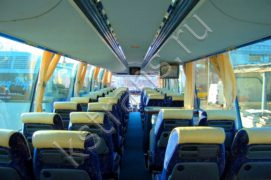 Перевозка детей в автобусе Неоплан - фото
