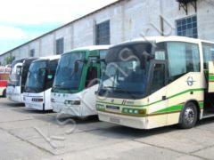 Перевозка групп детей автобусами - фотография